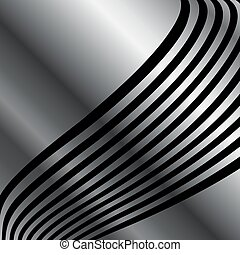 Silver wave background