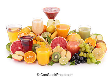 ジュース, フルーツ