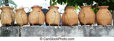 bamboo creel