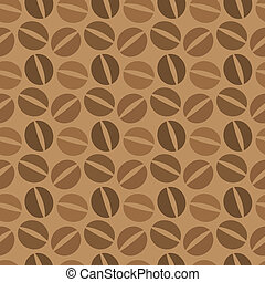 Coffee beans seamless - Seamless pattern of coffee beans....