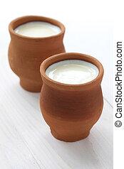 lassi, indian yogurt drink - lassi ia a popular yogurt based...