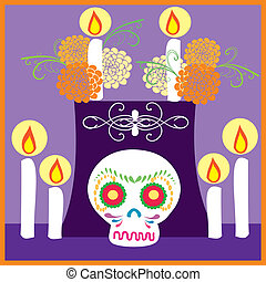 dia de muertos 6 - its a EPS file