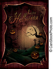 Halloween design - Pumpkins Theatre