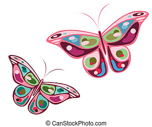 butterflies and flowers 4 - its a EPS file