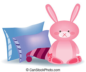 bunny pink - its a EPS file
