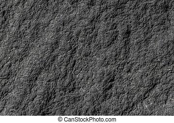 natural, piedra, granito, pared, áspero, estructura