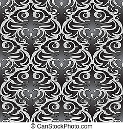 seamless black wallpaper pattern