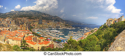 Monte Carlo - A panorama of the beautiful Monte Carlo