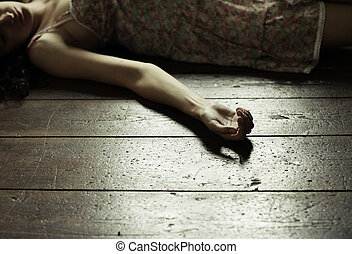 Dead woman