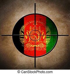 Afgan flag target