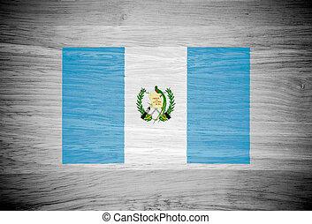 guatemala, bandera, madera, textura