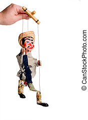 Marionette - A handmade custom Mexican style marionette...