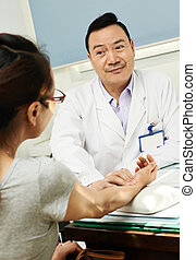 Chinese asian male doctor - Chinese adult asian male doctor...