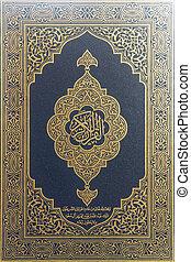 koran, -, święty, książka, Muslims