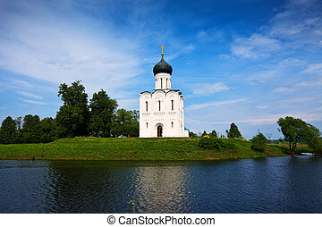 Church of the Intercession on River Nerl - Church of the...