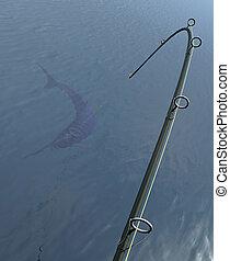 pez espada, pesca