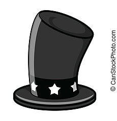 Black Magic Hat vector