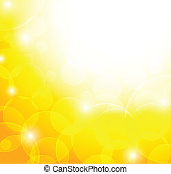 Abstract yellow background. Bright illustration