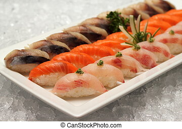 Sushi japanese food too popular in the world