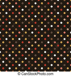 polka dots seamless background