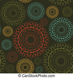 Wallpaper - vintage ornament pattern