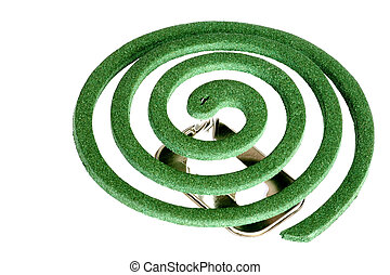 Mosquito Coil - Image of a mosquito coil