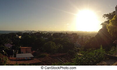 Sunset over Recife Brazil Timelapse - Sunset over Recife...