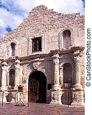 The Alamo, San Antonio, USA. - The Alamo, San Antonio,...
