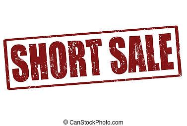 Short sale stamp