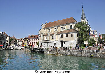 Annecy landscape, france