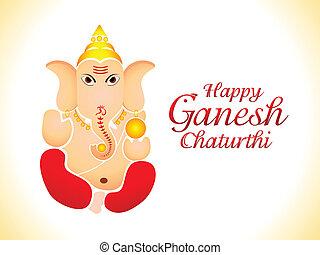 abstract ganesh chaturthi wallpaper