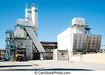 On plant of concrete products - Concrete Batching Plant at...