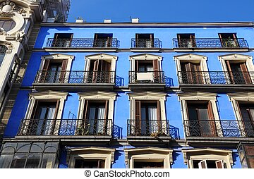 Calle Mayor, Madrid - Mediterranean architecture in Madrid,...