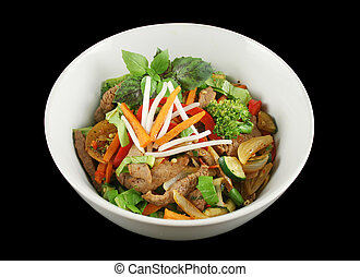 Stirfry Beef And Vegetables 1 - Stirfry beef and vegtables...