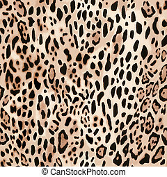 soft animal print - seamless background