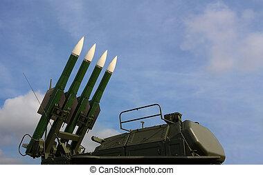 Antiaéreo, misil, Sistema