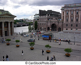 The area of Stockholm - The area in the centre of Stockholm...