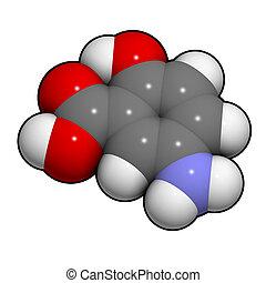 5-asa), inflammato, 5-aminosalicylic, ácido, mesalazine,...