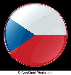Czech Flag Button