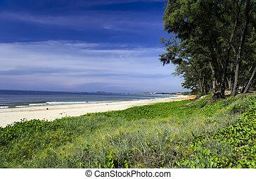 Coastal Landscape near Muine Vietnam, Phan Thiet Area