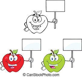 Apples Characters Set Collection 2