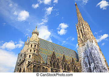 St Stephan cathedral in Vienna, Austria