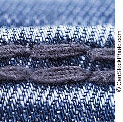 jeans stitches