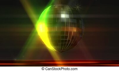 Disco Ball Animation - Animation of a Disco Ball