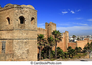 Kasbah of Oudayas in Rabat, Morocco