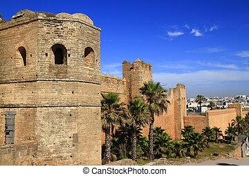 Kasbah of Oudayas in Rabat, Morocco