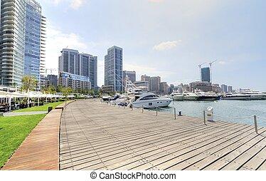 Zaitunay, bahía, Beirut, líbano