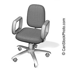 Illustration of an office chair