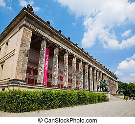 Altes Museum Berlin, Germany - Altes Museum German Old...