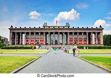 Altes Museum. Berlin, Germany - Altes Museum. German Old...